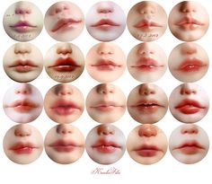 lips - roughly since 4.2012