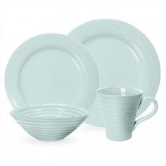 Celadon Sophia Conran Dinnerware by: Portmeirion