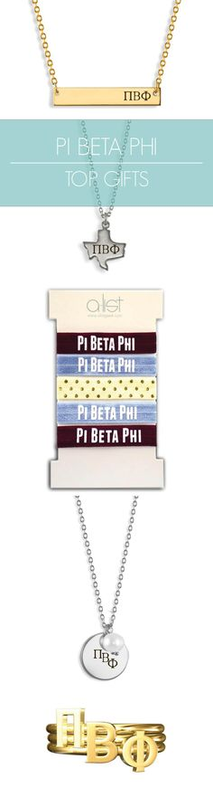 Top Pi Beta Phi Gifts for you and your sisters! This season's must-haves for all things Pi Phi // #sorority www.alistgreek.com