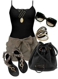 655a7759a57 150 pretty casual shorts summer outfit combinations (134) Summer Vegas  Outfit