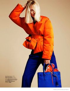 Vibrantly Eclectic Fall Fashion : Tosca Dekker