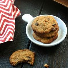 Paleo Banana Chip Cookies