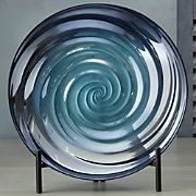 Swirl Bowl and Display Stand