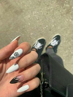 Grunge Nails, Edgy Nails, Aycrlic Nails, Stylish Nails, Swag Nails, Glitter Nails, Summer Acrylic Nails, Best Acrylic Nails, Summer Nails