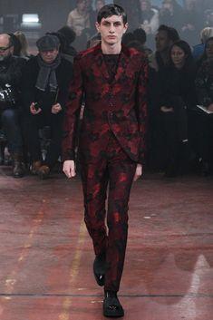 Alexander McQueen - Fall 2015 Menswear