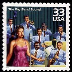 Big-band music, popular on recordings and radio and in ballrooms and concert halls, distracted Americans during World War II. Led by Duke Ellington, Glenn Miller, Benny Goodman, Count Basie, and others, the bands usually had 14 to 18 musicians.