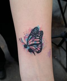 New tattoo  I want it to say fearfully wonderfully made and the butterfly incorporated