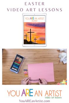 Celebrate Easter with art! Teach the joy of art to all grades and ages using this Easter Chalk Pastel Video Art Course. Video Artist, Artist Art, Easter Videos, Easter Art, Art Courses, Spring Art, Chalk Pastels, Invitations, Invite
