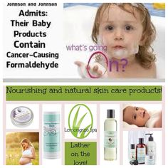 Would you put Formaldehyde on your baby?! It only takes 26 SECONDS for chemicals to be absorbed through the skin and into the bloodstream.  www.OurLemongrassSpa.com/LinnaeaKemp Contact Me!