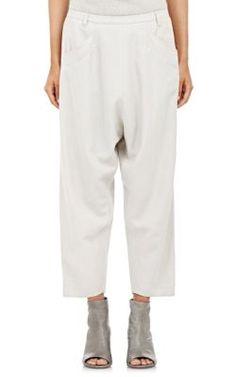 Pas de Calais Drop-Rise Trousers at Barneys New York