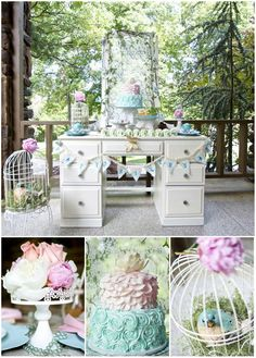 Woodland Fairy Tales Party with SO MANY Cute IDEAS via Kara's Party via Kara's Party Ideas Kara'sPartyIdeas.com #Woodland #Fairies #FairyTal...