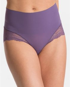 9e6665b3709f SPANX Undie-tectable Lace Hi-Hipster Panty, Style SP0515 Shapewear, Stylish  Outfits
