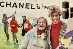 Chanel Perfume, Chanel Beauty, Seventeen Magazine, The Old Days, Teen Fashion, Fragrance, Couple Photos, Boys, 1970s