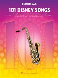101 Disney Songs is a marvelous collection of timeless tunes for instrumentalists! The selections range from classic animated Disney shows to modern favorites, and are arranged for intermediate level players. Available for Flute, Clarinet, Alto Saxophone, Tenor Saxophone, Trumpet, French Horn, Trombone, Violin, Viola, and Cello (no piano accompaniment book). Contents: Baby Mine (From Dumbo) The Ballad Of Davy Crockett (From Davy Crockett) Be Our Guest (From Beauty And The Beast) Beauty And The B Tenor Sax, Emperors New Groove, The Lord Is Good, Online Music Stores, Disney Songs, I Saw The Light, The Fox And The Hound, Lady And The Tramp, High School Musical