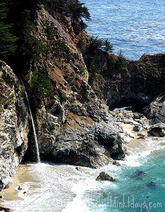 Waterfall at Julia Pfieffer State Park, Big Sur, California