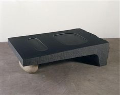 Isamu Noguchi- Water Table 14 3/8 x 51 3/8 x 32 1/4 in. (36.5 x 130.5 x 81.9 cm