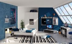 Erkek Genç Odası Dekorasyonu Nasıl Olmalı ? - http://www.dekorvedekor.net/erkek-genc-odasi-dekorasyonu-nasil-olmali/