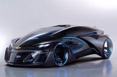 Concept Car électrique Chevrolet FNR #Conceptcar #Chevrolet #GeneralMotors #electric #2015AutoShangai #futur #FNR #Design