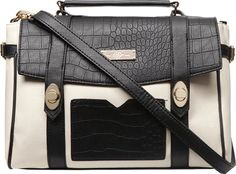 Womens Black And White Pocket Satchel Bag Black #Dorothy Perkins #Satchels #Dorothy Perkins #fashion #obsessory #fashion #lifestyle #style #myobsession