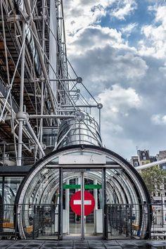 Centre Pompidou (Beaubourg) Paris