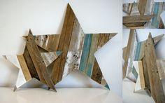 Etoiles en bois de palettes