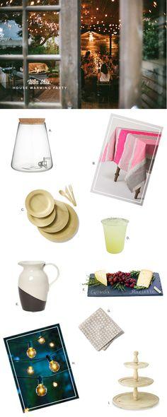 A housewarming party kit.