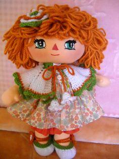 a handmade doll named Olivia