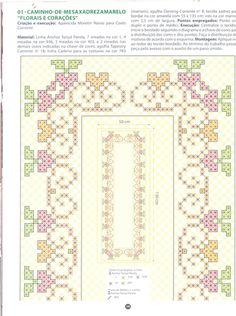 Blog de caminho-das-linhas :Caminho das Linhas, Grafico do Caminho de mesa laranja - postado dia 24/08/2009