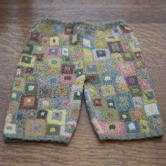 pantaloni bambino di Sophie digard uncinetto
