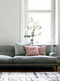 Looks comfy as well! Something like this in main living area, maybe teamed with a beaten leather couch, and a cosy corner couch in movie room.