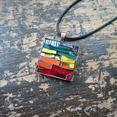 Rustic Rainbow by Jen on Etsy