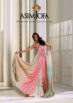 New Stylish Semi-Formal Outfits 2012 For Women By Asim Jofa (1)