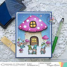 mama elephant | design blog: STAMP HIGHLIGHT: Little Girl Gnome Agenda Holiday Wishes, Holiday Tree, Megan Quinn, Mama Elephant Stamps, Girl Gnome, 9th Anniversary, Xmas Greetings, Elephant Design, Cute Family