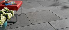 Basalo Terrassenplatten in basaltgrau