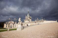 Chateau de Chantilly : http://ift.tt/1opfmyY #Photo #FocusedOn #Château #Nuage #Chantilly #Castel #Cloud