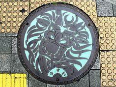 Uwajima Ehime manhole cover 2 (愛媛県宇和島市のマンホール2) | by MRSY