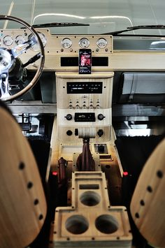 Custom Car Interior, Truck Interior, Car Console, Center Console, Mk1, T3 Camper, Kombi Home, Modern Gallery Wall, Cool Garages