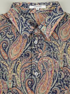 Paisley shirt. A Hand in God's Till: http://www.ahandingodstill.co.uk