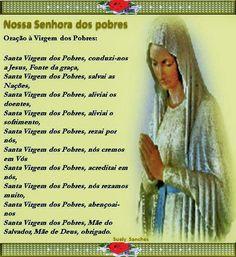 oração - Nossa Senhora dos Pobres