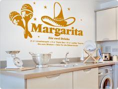 Wandtattoo Cocktail Margarita Wall Stickers Animals, Margarita Cocktail, Normal Wallpaper, Cocktails, Wall Tattoo, Nursery Wall Decals, Room Wall Decor, Flower Decorations, Kitchen Decor