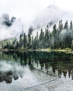 tannerwendell: lake twenty two. washington. (at Lake...