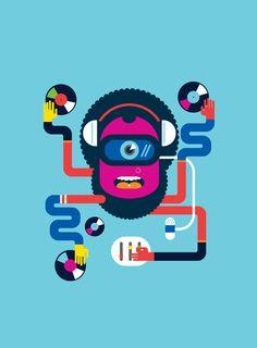 DJ ART. #djculture http://www.pinterest.com/TheHitman14/dj-culture-vinyl-fantasy/
