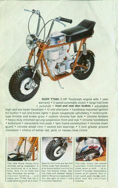 RUPP TT-500 MINIBIKE