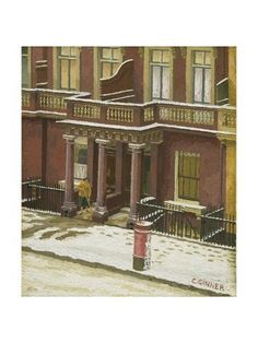 Giclee Print: Snow in Pimlico by Charles Ginner : Framed Artwork, Wall Art, Art For Art Sake, Gradient Color, Find Art, Printing Process, Giclee Print, Around The Worlds, Camden Group