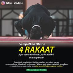 "Media Dakwah di Instagram "". Jangan lupa menyempatkan waktu untuk sholat dhuha 4 rakaat, agar semua hajat mu pada hari ini Allah penuhi. . . . Tag & share jika…"" Hijrah Islam, Islam Marriage, Doa Islam, Reminder Quotes, Self Reminder, Islamic Inspirational Quotes, Islamic Quotes, Islamic Art, Sunnah Prayers"