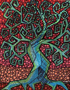 Árbol de la vida por Kellysartjournaling en Etsy