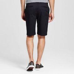 Men's Club Shorts Black 40 - Merona