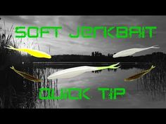 Fishing Flukes for Big Bass - YouTube