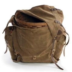 Frost River Timber Cruiser Portage Pack with Ash Basket
