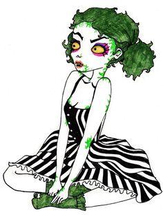 Beetlejuice's daughter by Laura-Bosley on DeviantArt